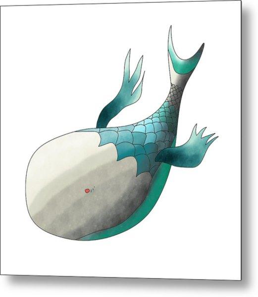 Deep Sea Fish Metal Print