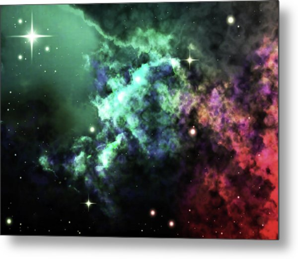 Deep Space Clouds I Metal Print