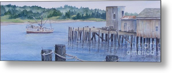 Deer Island  Original...sold Metal Print