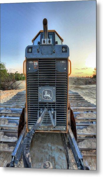 Deere Heavy Equipment  Metal Print by JC Findley