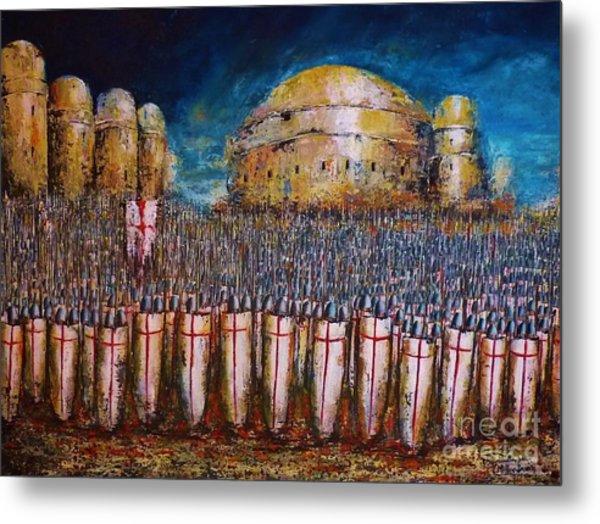 Defence Of Jerusalem Metal Print
