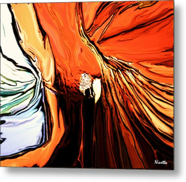 Defense Metal Print by Andrea N Hernandez