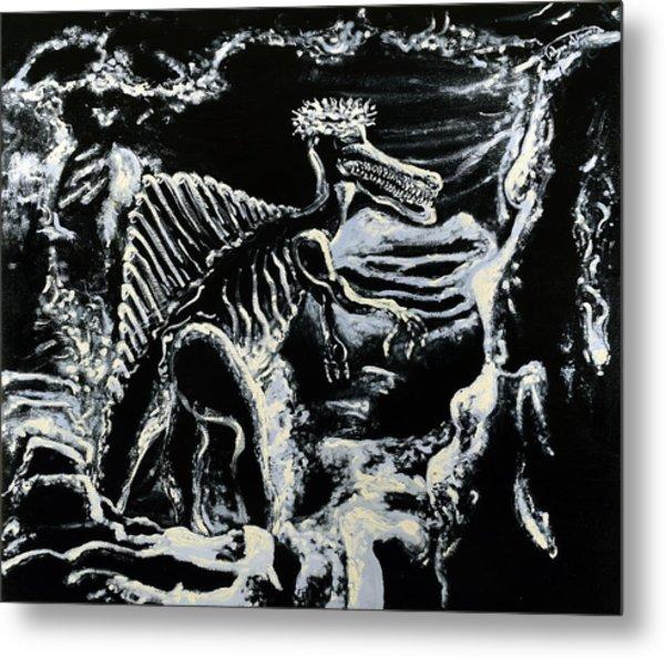 Deinos Sauros    Metal Print