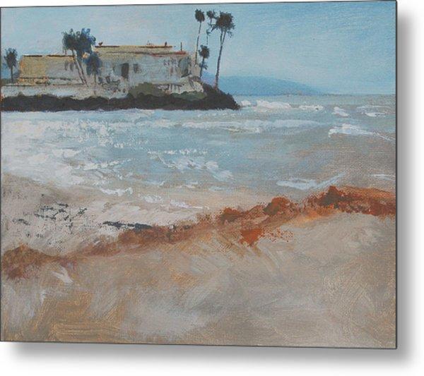 Del Mar Beach Metal Print by Robert Bissett