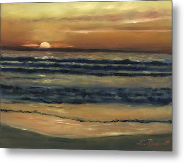 Del Mar Sunset Metal Print