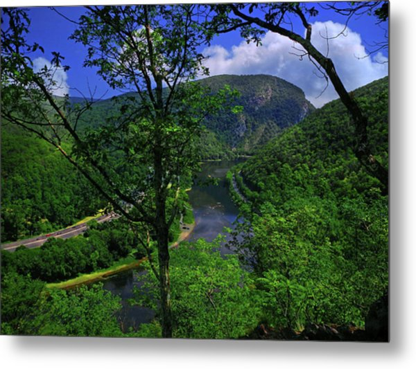 Delaware Water Gap Metal Print