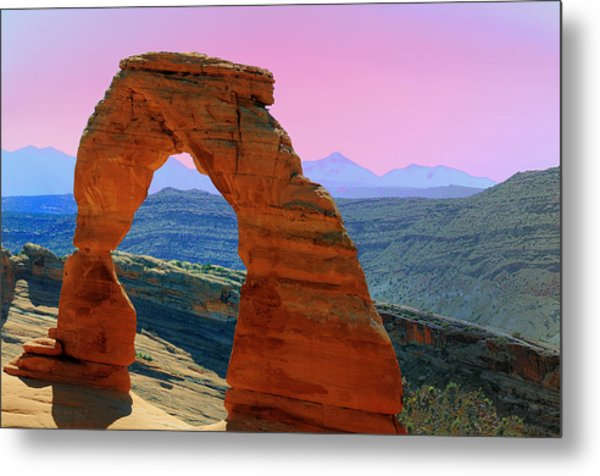Delicate Arch  --  Arches National Park Metal Print