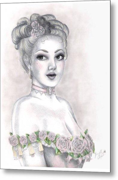 Delicate Beauty Metal Print by Scarlett Royal