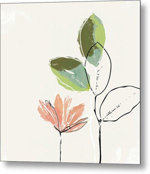 Delicate Flower- Art By Linda Woods Metal Print