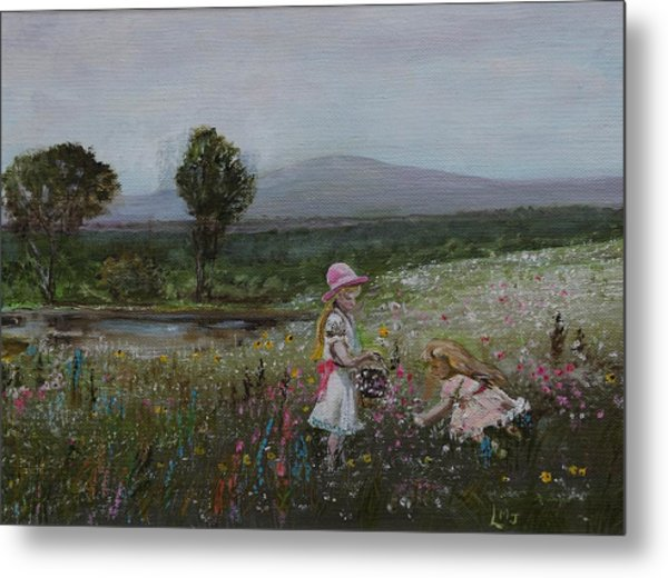 Delights Of Spring - Lmj Metal Print