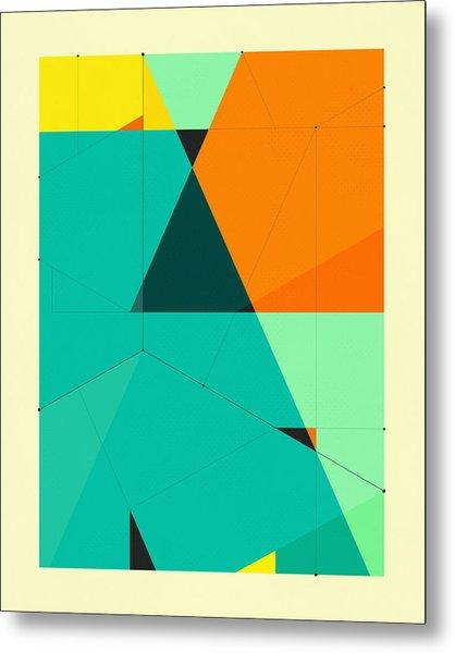 Delineation - 128 Metal Print