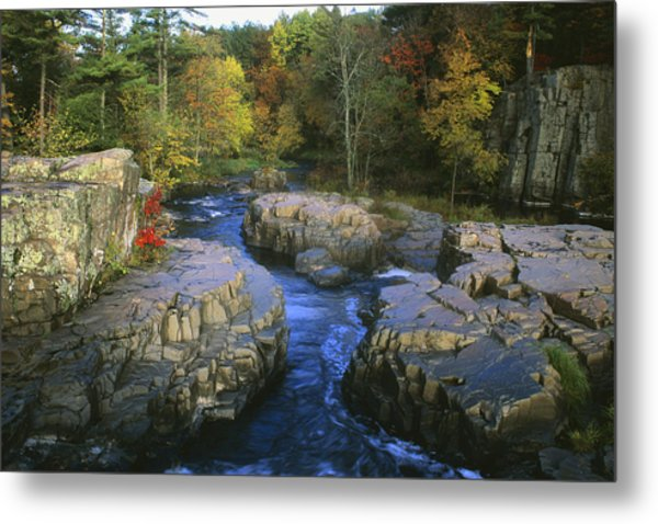 Dells Of The Eau Claire Metal Print