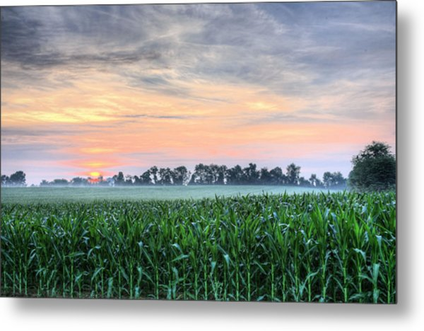 Delmarva Charm Metal Print by JC Findley