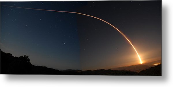 Delta II Jason 2 Launch June 20 2008 Metal Print