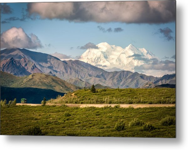 Denali Appears Metal Print