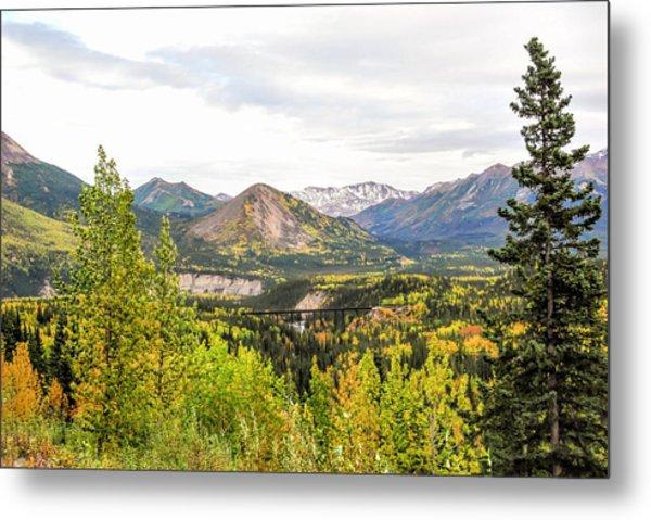 Denali National Park Landscape No 2 Metal Print