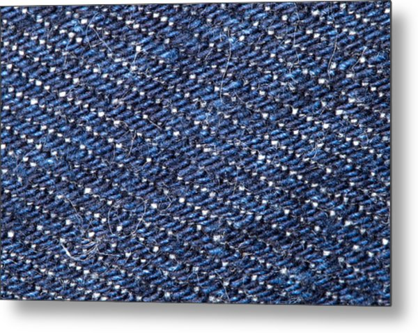 Denim 674 Metal Print