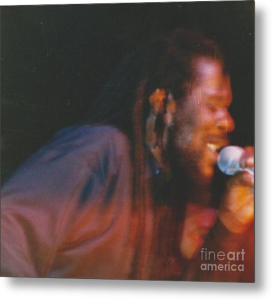 Dennis Brown Metal Print