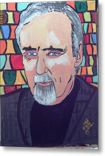Dennis Hopper Metal Print by Jeffrey Foti