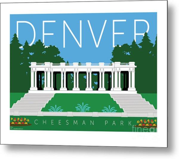 Denver Cheesman Park Metal Print