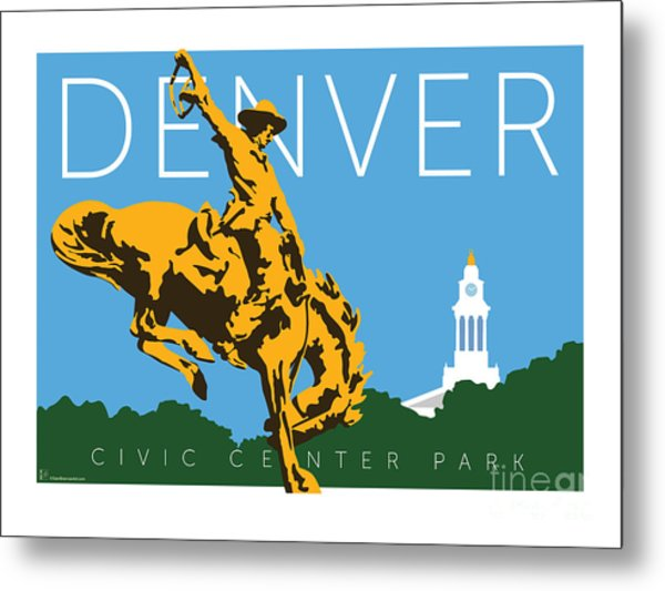 Denver Civic Center Park Metal Print