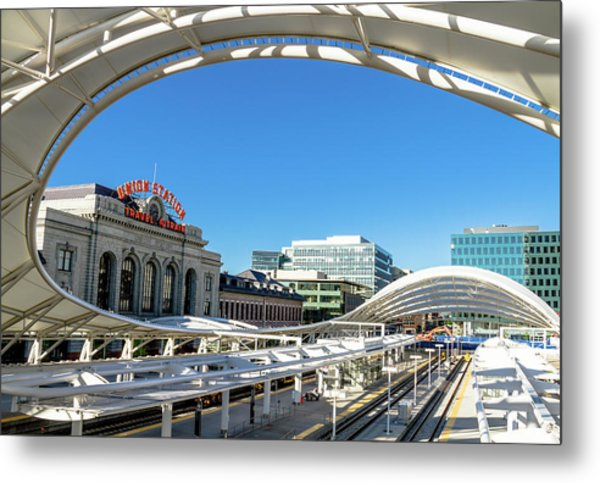Denver Co Union Station Metal Print