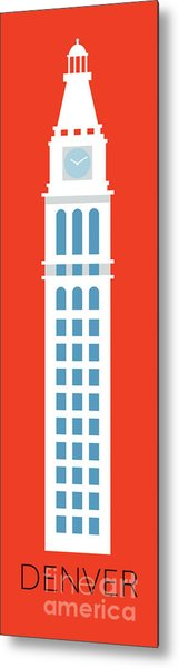 Denver D And F Tower/tall Metal Print