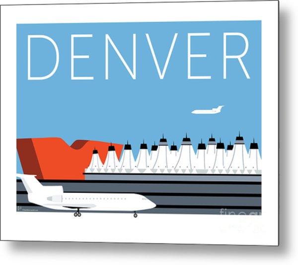 Denver Dia/blue Metal Print