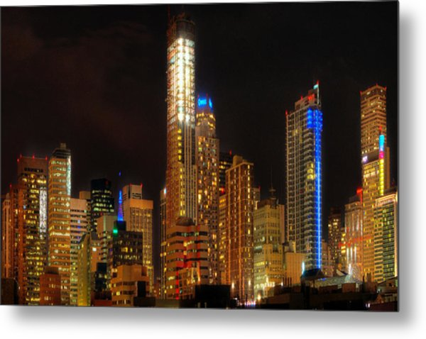 Denver Smash Metal Print