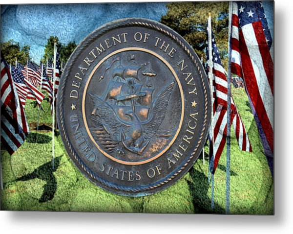 Department Of The Navy - United States Metal Print