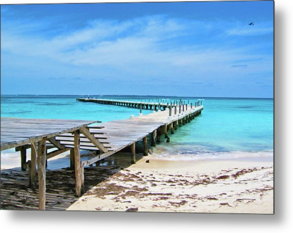 Departure Point Metal Print