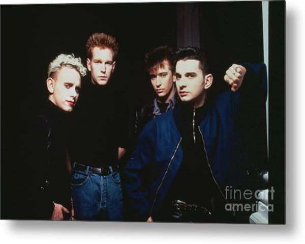 Depeche Mode Metal Print