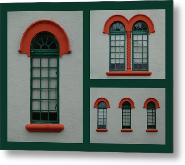 Depot Windows Collage One Metal Print