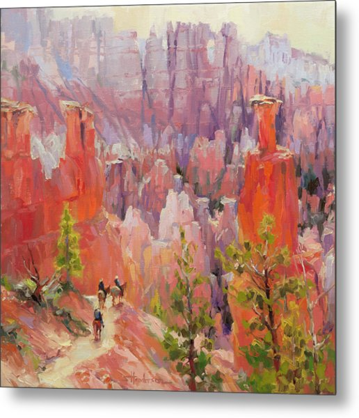 Descent Into Bryce Metal Print