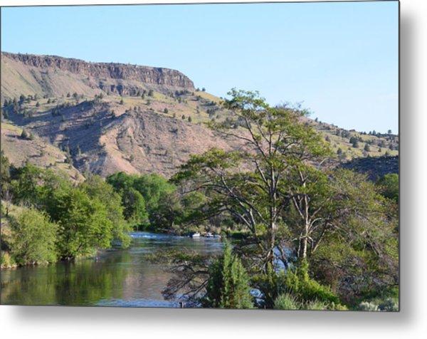 Deschutes River At Trout Creek Metal Print