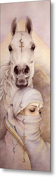 Desert Angels Metal Print by Johanna Pieterman