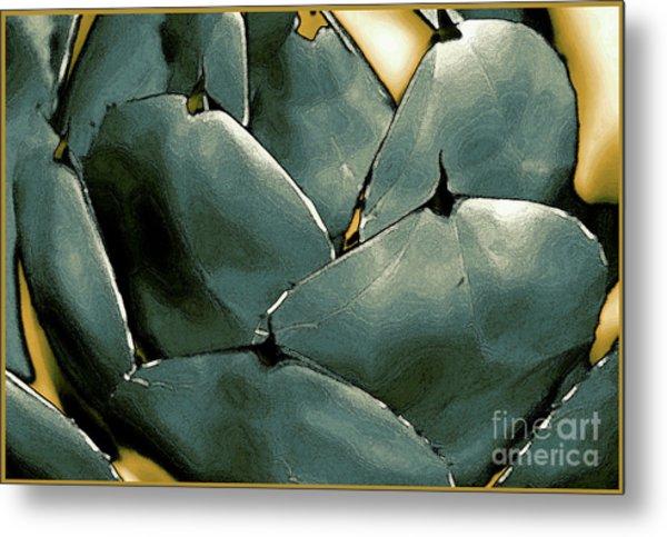 Desert Botanical 2  Metal Print by Linda  Parker