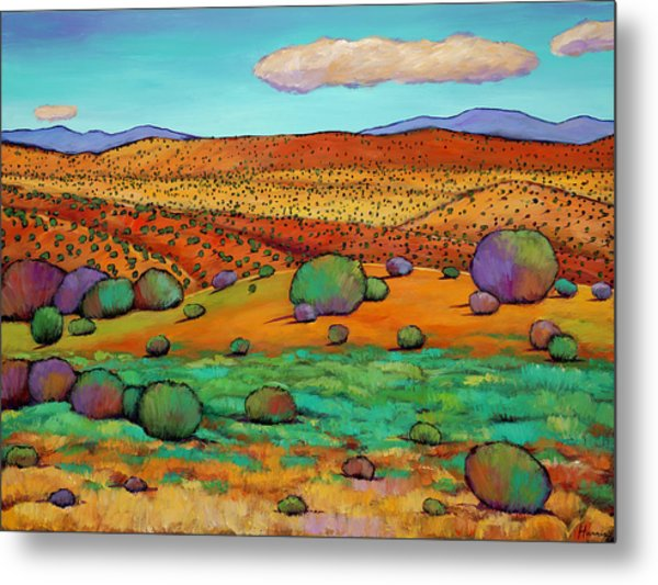Desert Day Metal Print