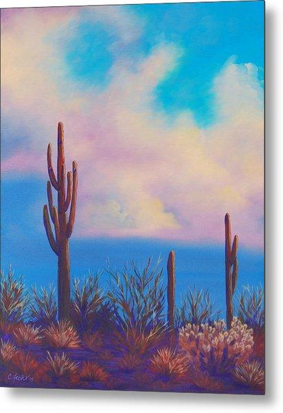 Desert Fog Metal Print