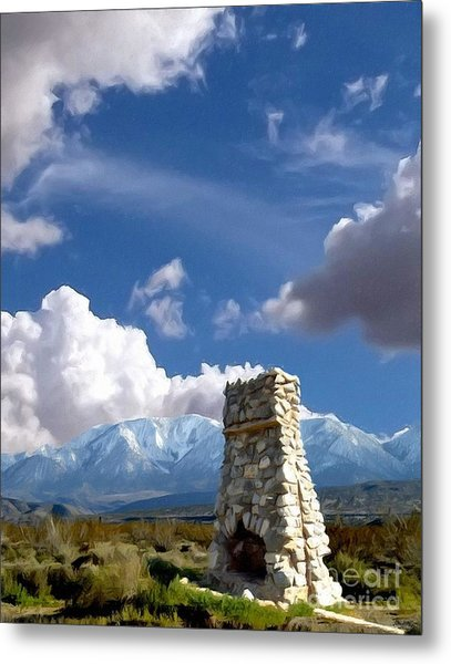Desert Host Impressions Metal Print by Glenn McCarthy Art and Photography