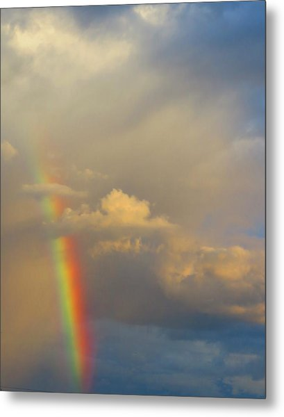 Desert Rainbow Metal Print
