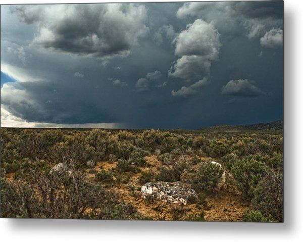 Desert Storm 2 Metal Print