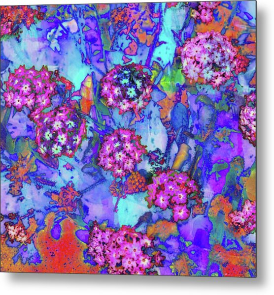 Desert Vibe Bloom Metal Print