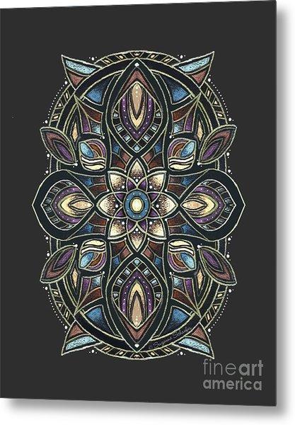 Design 222 A Metal Print
