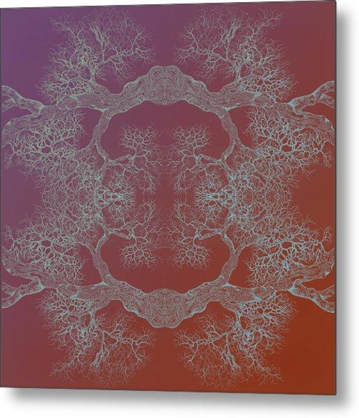 Desire Tree 8 Hybrid 1 Metal Print