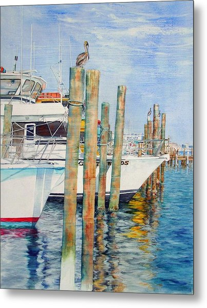 Destination Destin Nr. One Metal Print