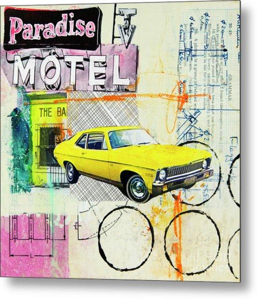 Destination Paradise Metal Print