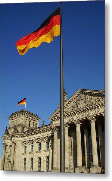 Deutscher Bundestag Metal Print