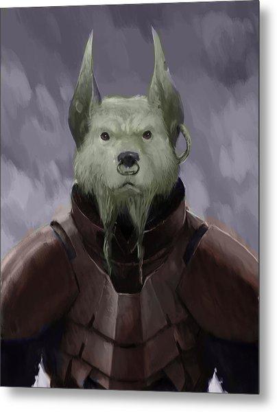 Devil Dog Metal Print