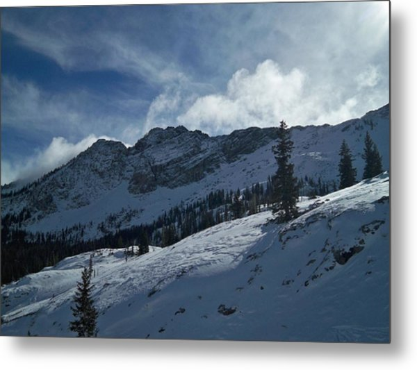 Devils Castle Morning Light Metal Print